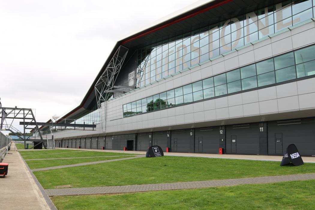 Screen Locations Silverstone Circuit